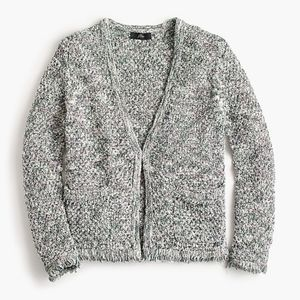 J. Crew Lady Sweater Fringe Cardigan